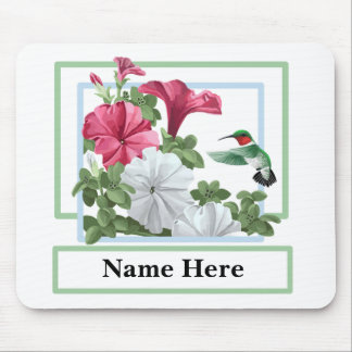 Personalized Hummingbird Mouspads Mouse Pad