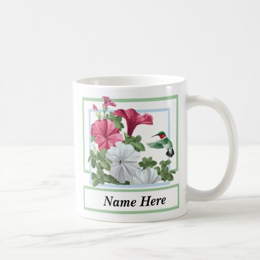 Personalized Hummingbird Mugs