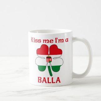 Personalized Hungarian Kiss Me I'm Balla Classic White Coffee Mug