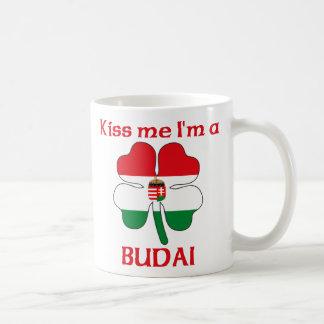 Personalized Hungarian Kiss Me I'm Budai Coffee Mugs