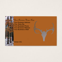 Camo business cards templates zazzle personalized hunting theme camo deer business card colourmoves