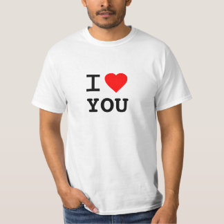 Personalized I Heart T-Shirt