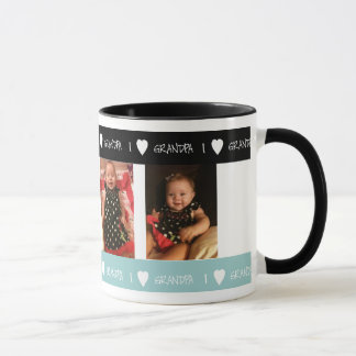 Personalized I Love Grandpa Mug