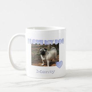 Personalized: I Love My Dog Mug