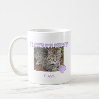 Personalized: I Love My Kitty Mug