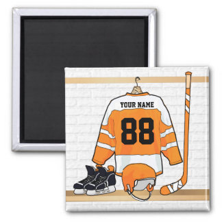 Personalized Ice Hockey Jersey Magnet