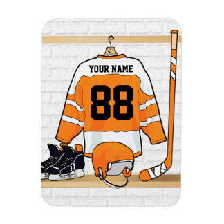 Personalized Ice Hockey Jersey Flexible Magnets
