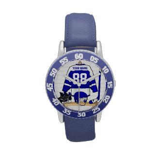 Personalized Ice Hockey Jersey Wristwatch