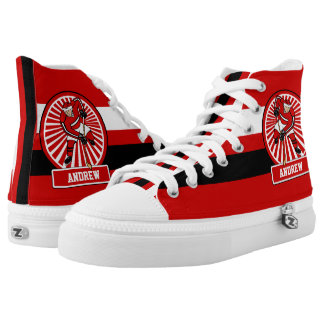 Personalized Ice Hockey player High-Top Sneakers