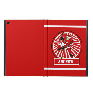 Personalized Ice Hockey Player iPad Air Cases
