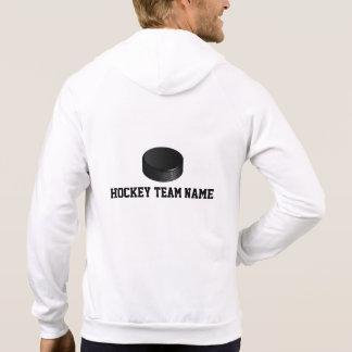 Personalized Ice Hockey Zip Up Sweatshirt