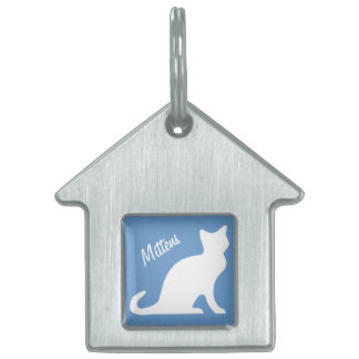 Personalized id tags for cats | Customizable print