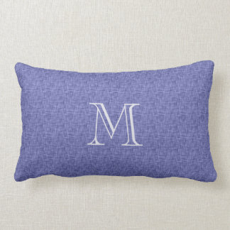 Personalized Initial Name Linen Look Toss Throw Pillows