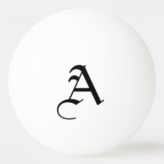 Personalized Initial Ping-Pong Ball
