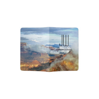 Personalized Initials Passport Holder Grand Canyon