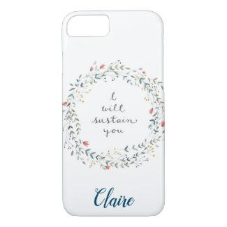 Personalized Inspirational Quote iPhone 8/7 Case