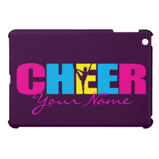 Personalized iPad Cheerleading Case Purple iPad Mini Cases