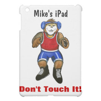 Personalized iPad Cover for Wrestler