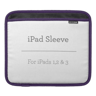 Personalized iPad Sleeve