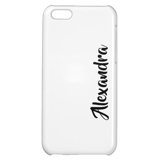 PERSONALIZED iPhone 5C CASE GLOSSY FINISH