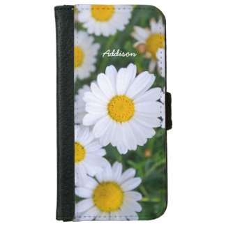 Personalized iPhone 6 Wallet Cases Daisy Add Photo
