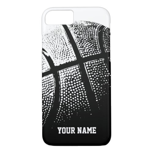 Personalized iPhone 7 case | basketball sports Phone Case