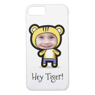 """Personalized iPhone 7 Case: Child Photo """"Tiger"""" iPhone 7 Case"""