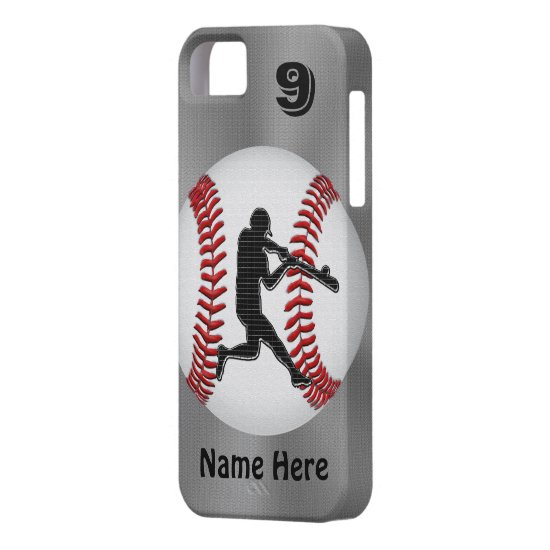 Personalized iPhone Baseball Cases NAME  NUMBER