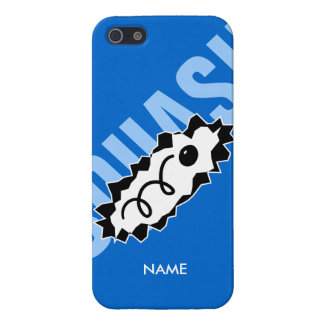 Personalized iPhone cover with squash ball print