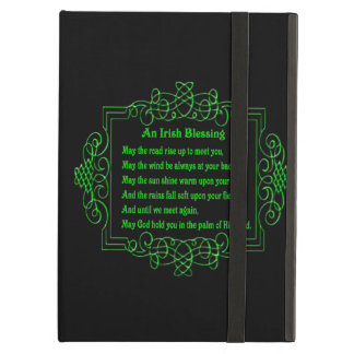 Personalized Irish Blessing iPad Case