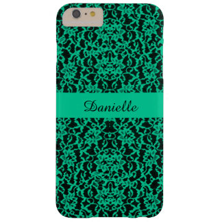 Personalized Irish Kelly Green Lace Barely There iPhone 6 Plus Case