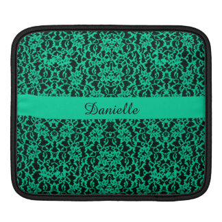 Personalized Irish Kelly Green Lace Sleeve For iPads