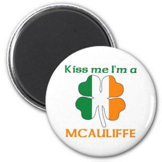 Personalized Irish Kiss Me I m Mcauliffe Fridge Magnets