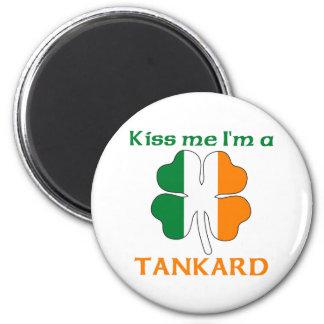 Personalized Irish Kiss Me I m Tankard Refrigerator Magnets
