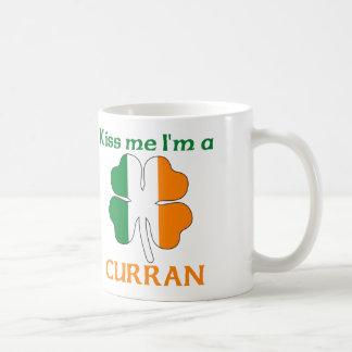 Personalized Irish Kiss Me I'm Curran Coffee Mug