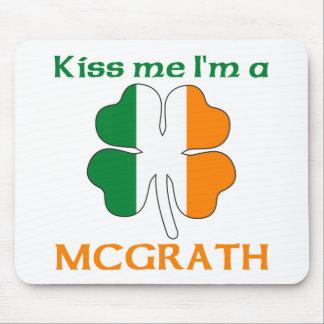 Personalized Irish Kiss Me I'm Mcgrath Mouse Pad