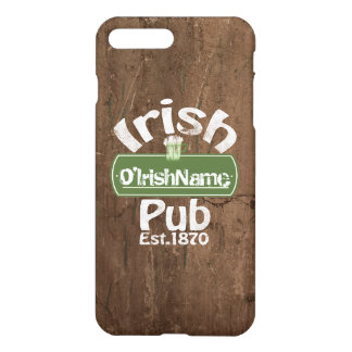 Personalized Irish Pub Old Keg Effect Sign iPhone 8 Plus/7 Plus Case