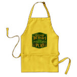 Personalized Irish Pub Sign Apron