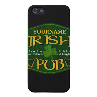 Personalized Irish Pub Sign Cover For iPhone SE/5/5s