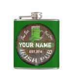Personalized Irish Pub Sign Hip Flask at Zazzle