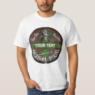 Personalized Irish pub sign T-Shirt