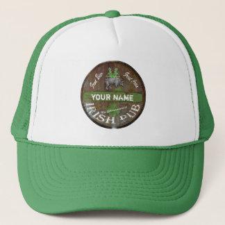 Personalized Irish pub sign Trucker Hat