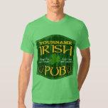 Personalized Irish Pub Sign Tshirts