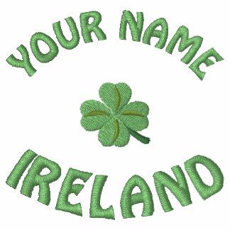 Personalized Irish shamrock