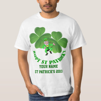 Personalized  Irish St Patrick's day T-Shirt