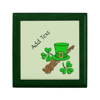 Personalized Irish Trinket / Gift Box
