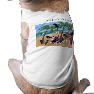 Personalized Island Summer Vacation Labradors T-Shirt