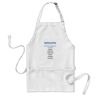 Personalized it!!!!!! adult apron