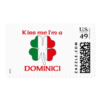 Personalized Italian Kiss Me I'm Dominici Stamps