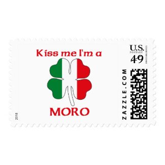Personalized Italian Kiss Me I'm Moro Stamps
